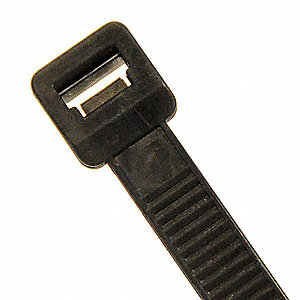 Cable Tie,Mountable,21 in.,Black,PK100