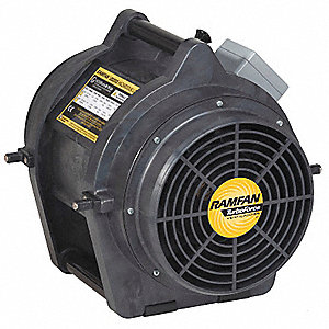 Axial Explosion Proof Confined Space Fan, 1/3 HP HP, 115V Voltage, 3450 rpm Blower/Fan Speed