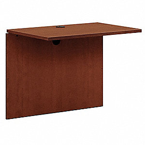 Desk Bridge,36 x 29 x 24In,Medium Cherry