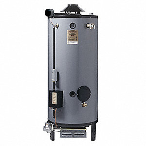 Commercial Gas Water Heater, 72 gal. Tank Capacity, Natural Gas, 300,000 BtuH
