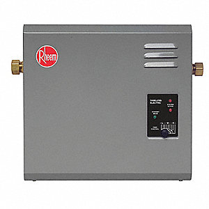 Electric Tankless Water Heater, Undersink, Point-of-Use, 18,000 Watts, 75 Amps AC