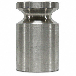 Calibration Weight,SS,500g,Cylinder