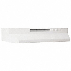 Hood,Duct Free,36 In,White