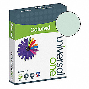 Colored Paper,8-1/2 x 11 In,Green,PK500