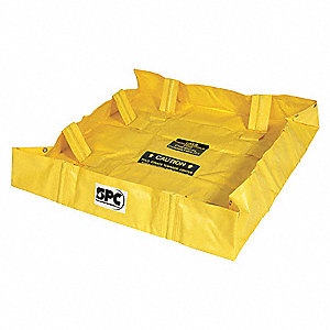 Collapsible Wall Containment Berm,119gal