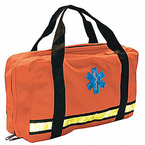 Flat Pac Bag,Orange,16 In. L