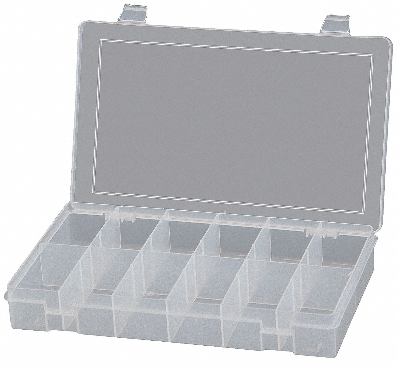 Durham Compartment Box 12 Compartments Clear 15v201 Sp12