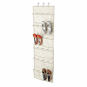 Over-the-Door Shoe Organizer, 12 Pair