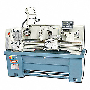 Engine Lathe, 14x40 In.,  3HP, 3Phase