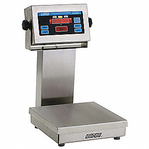 Checkweigher Scale,SS Pltfrm,50 lb. Cap.