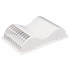 Soffit Vent,Plastic,4 In