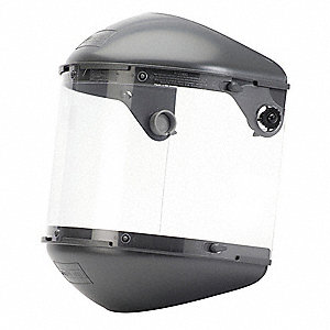 Faceshield Assembly,Propionate,Clear