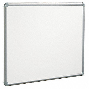 Magnetic Dry Erase Board,White,48x72 In.