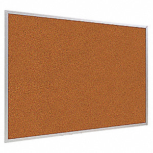 Bulletin Board,Red,Splash Cork,48inx48in