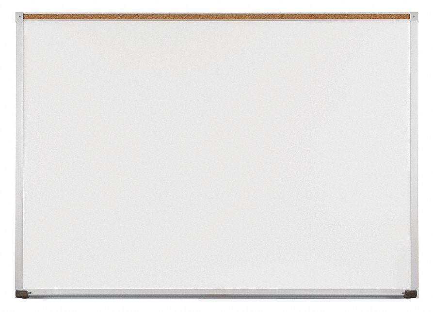 Balt Gloss Finish Porcelain Dry Erase Board Wall Mounted