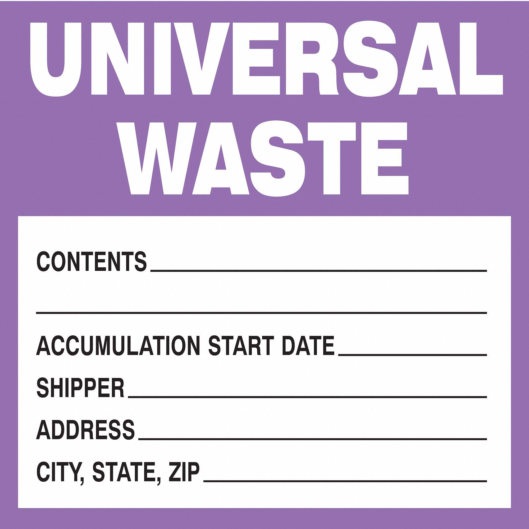 brady label templates - brady paper waste label 6 height 6 width 15y490