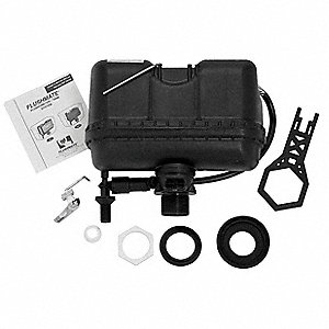 Plastic Complete Replacement Kit, Black, For Use With Eljer 141-7000 Tanks Only, Replaces Eljer 150-