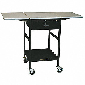 Adjustable Mobile Work Table, 200 lb. Load Capacity