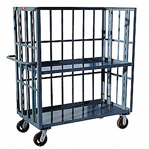 3 Sided Slat Cart