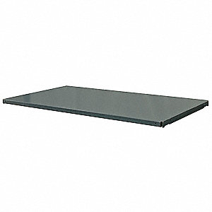 Gray Additional Shelf, 14 Gauge, Steel