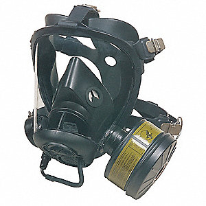 Survivair Opti-Fit(TM) CBRN Mask,Tube,L