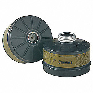 Gas Mask Canister For Use With Mfr. Model No. 759000, 769000, 779000, 759020, 769020, 779020