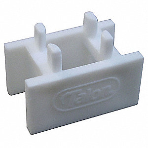 Plastic Pipe Clip Spacer, PEX Body Material, Tube Connection Type