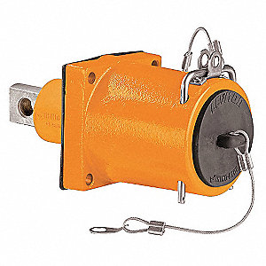 3R Standard Clevis Pin Receptacle, Female, Orange