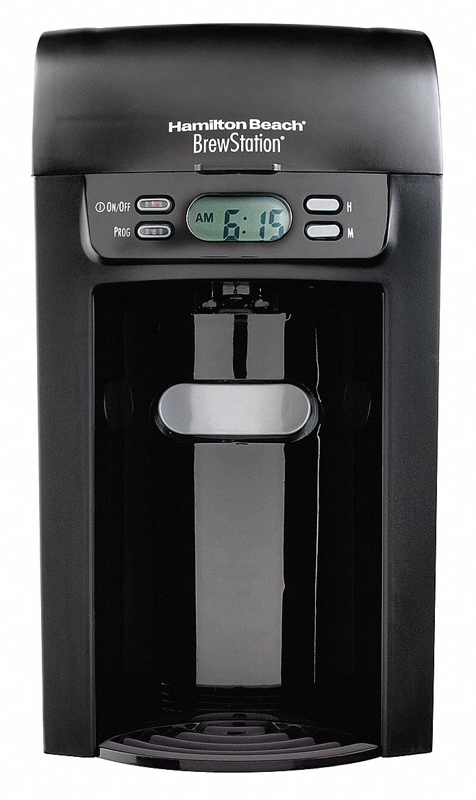 Hamilton Beach 6 Cup Plastic Coffee Maker Black 16w499
