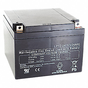 Battery, Voltage 12, Battery Capacity 17Ah, Lug Terminal Type