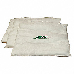 Absorbent Pillow,17 In. W,17 In. L,PK16