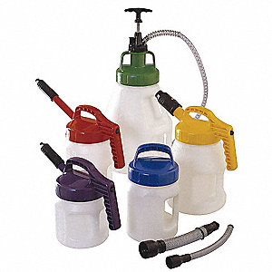 Starter Kit with Pump, Pour, Store,Label