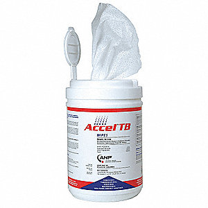 "160 6 x 7"" Disinfecting Wipes, 1 EA"