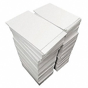 Water Soluble Paper,8 1/2x14,PK500