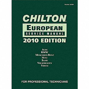 Chilton 2010 European Service Manual