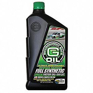 Full Synthetic Engine Oil,5W-30,32 Oz.