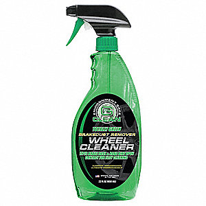 Biodegradable Wheel Cleaner,22 Oz