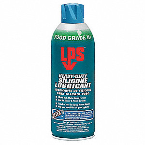 Heavy Duty Silicone Lubricant w/Detex , 16 oz. Aerosol Can