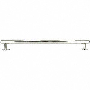 MODERN EL SS Grab Bar, Polished, 12 In