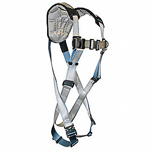 Full Body Harness,M,310 lb.,Silver