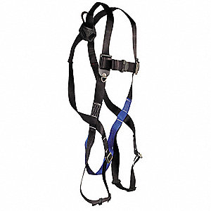 Full Body Harness,Universal,310 lb,Black