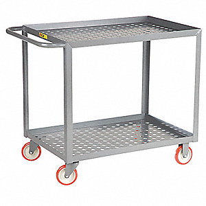 Garden Cart, 1200 lb. Load Capacity, Number of Shelves 2