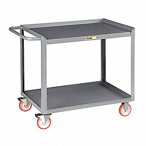 Mobile Work Center,2 Shelf,54x24x35