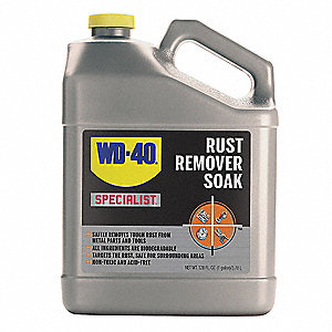 Liquid Rust Remover, 1 gal. Plastic Bottle