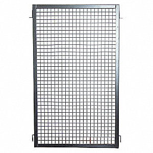 Wire Partition Panel,W 2 Ft x H 5 Ft