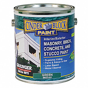 Rae semi gloss exterior paint water base green 1 gal for Exterior water based paint
