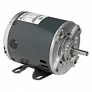 1/4 HP General Purpose Motor,Split-Phase,1725 Nameplate RPM,Voltage 115,Frame 48