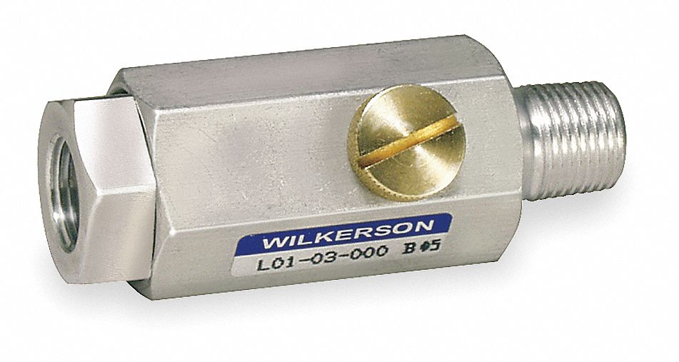 Wilkerson in line air lubricator cfm a l