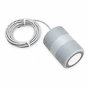 Ultrasonic Sensor,2 1/2 In NPT,24 VDC