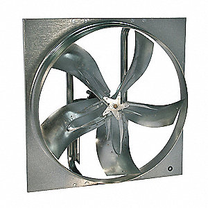 "54"" Medium Duty Exhaust Fan with Motor and Drive Package, 3 Phase, Unassembled"